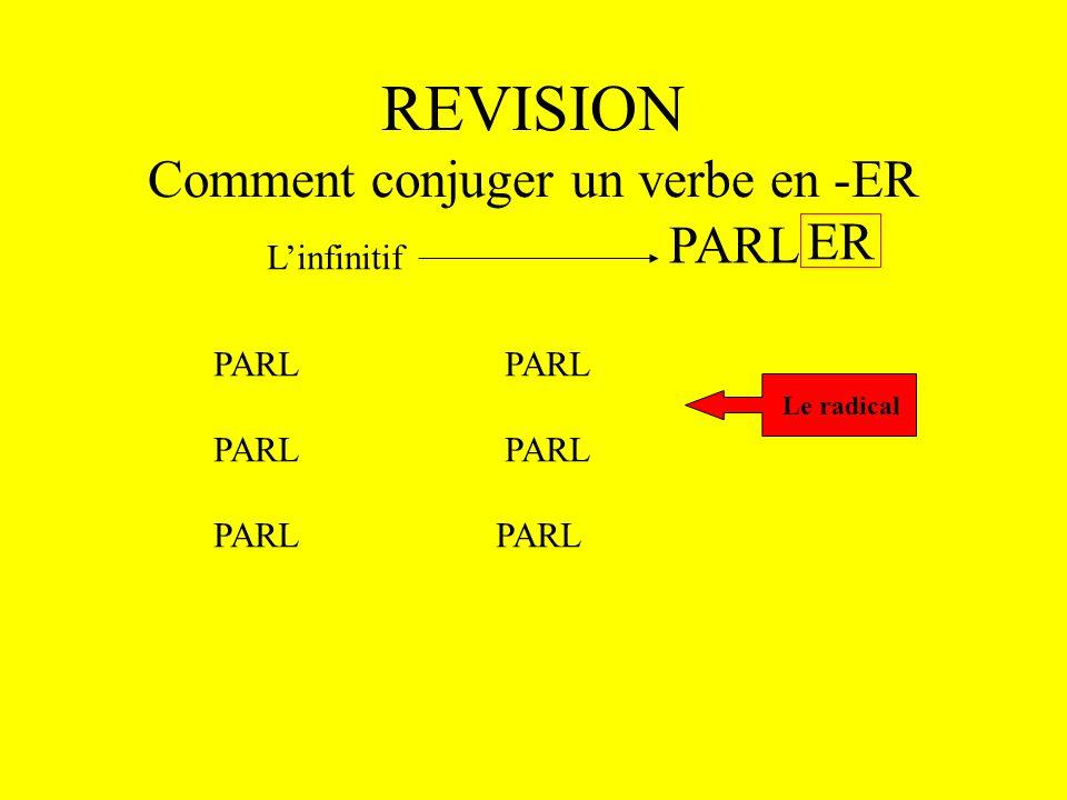 Les Verbes en -IR Bleu leçon 19