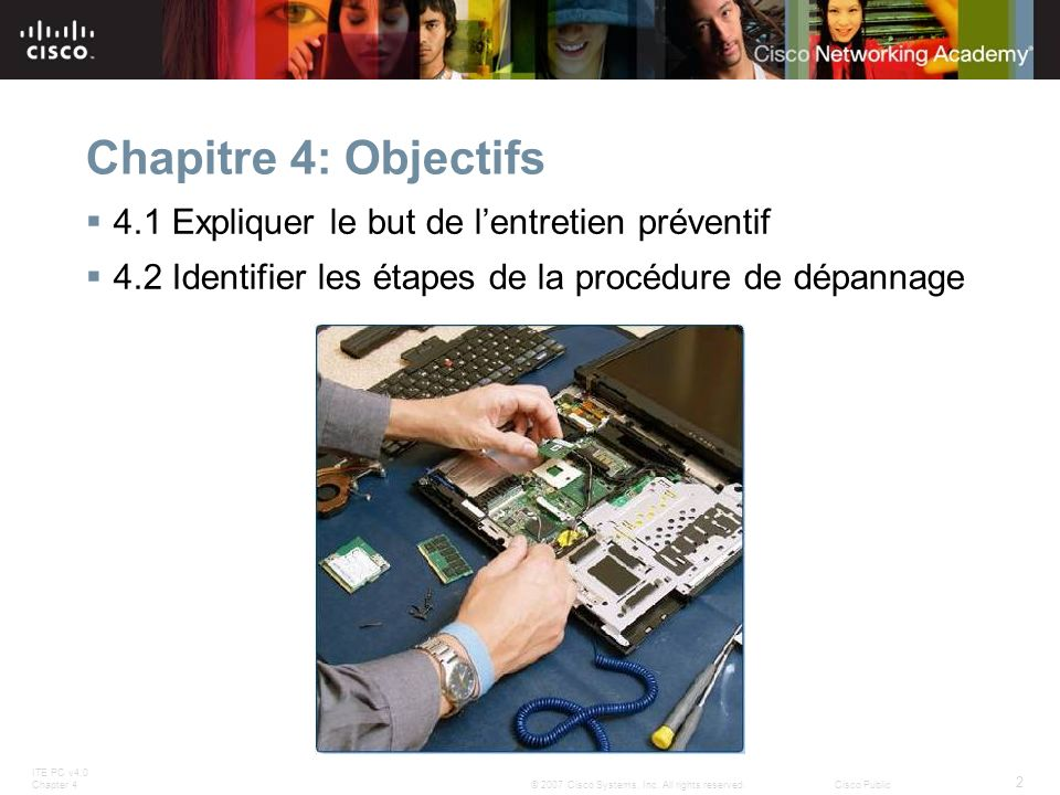 ITE PC v4.0 Chapter 4 13 © 2007 Cisco Systems, Inc.