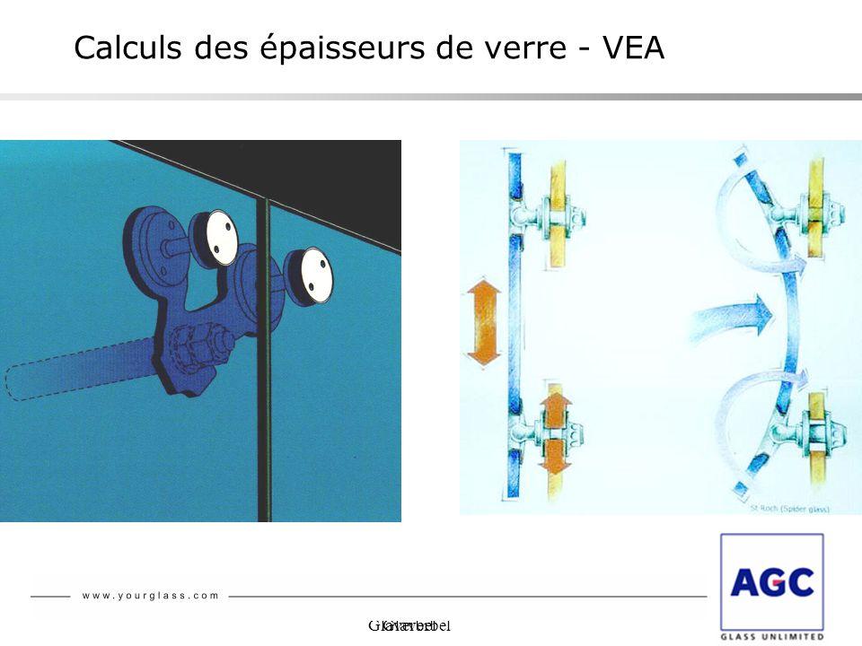 Glaverbel Calculs des épaisseurs de verre - VEA