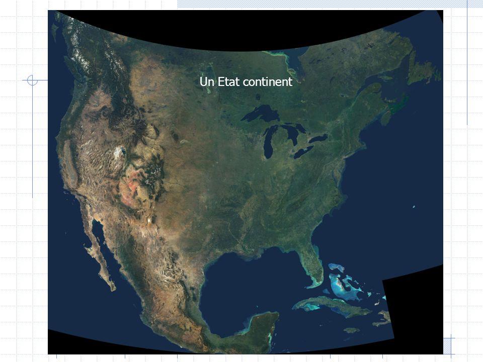 A- un territoire maîtrisé, peuplé… Un espace plein de ressources et bien maîtrisé 9.6 millions de km², 4° superficie du monde après la Russie, le Canada et la Chine