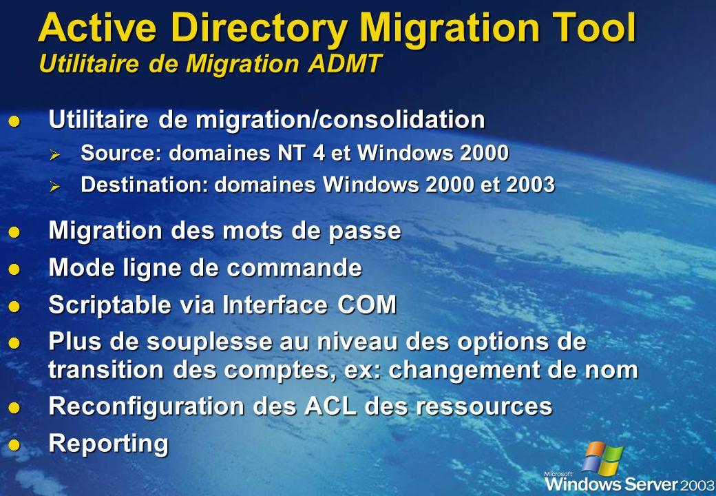 Post Upgrade Backup Backup Creez de nouveaux backup du system state Creez de nouveaux backup du system state Roles FSMO Roles FSMO Bonne répartition d