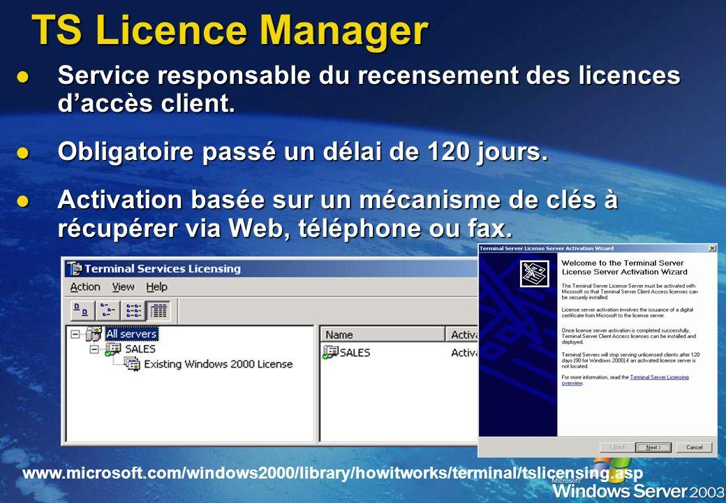 Nouveau provider WMI Nouveau provider WMI Accessible en lecture/ecriture Accessible en lecture/ecriture Couverture de la quasi intégralité des paramèt