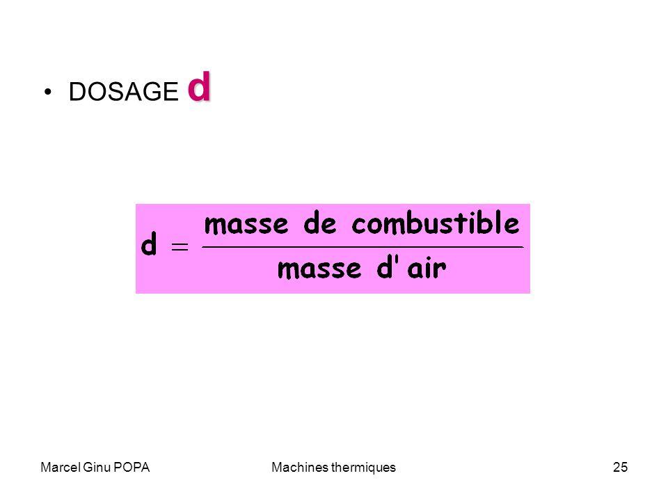Marcel Ginu POPAMachines thermiques25 dDOSAGE d