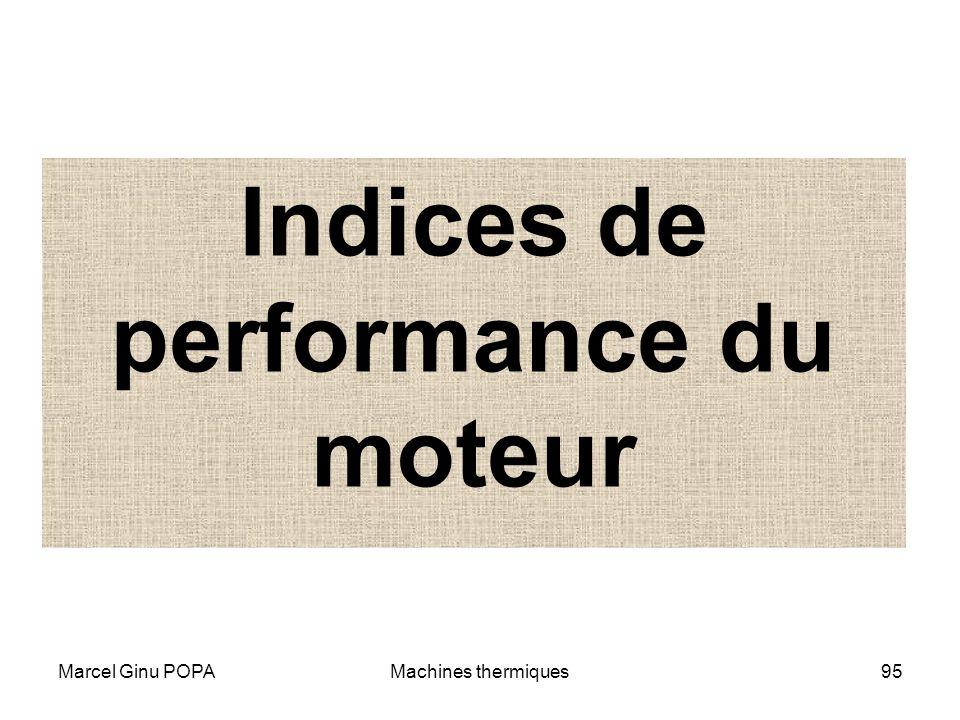Marcel Ginu POPAMachines thermiques95 Indices de performance du moteur