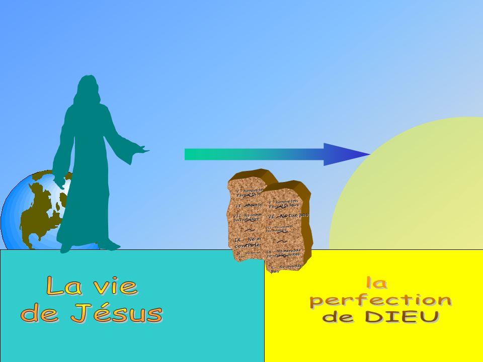 Jésus a vécu une vie parfaite Il a obéit à toute la loi de Dieu !