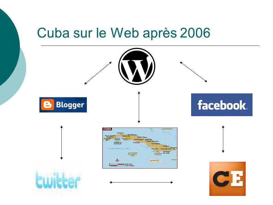 Cuba sur le Web après 2006