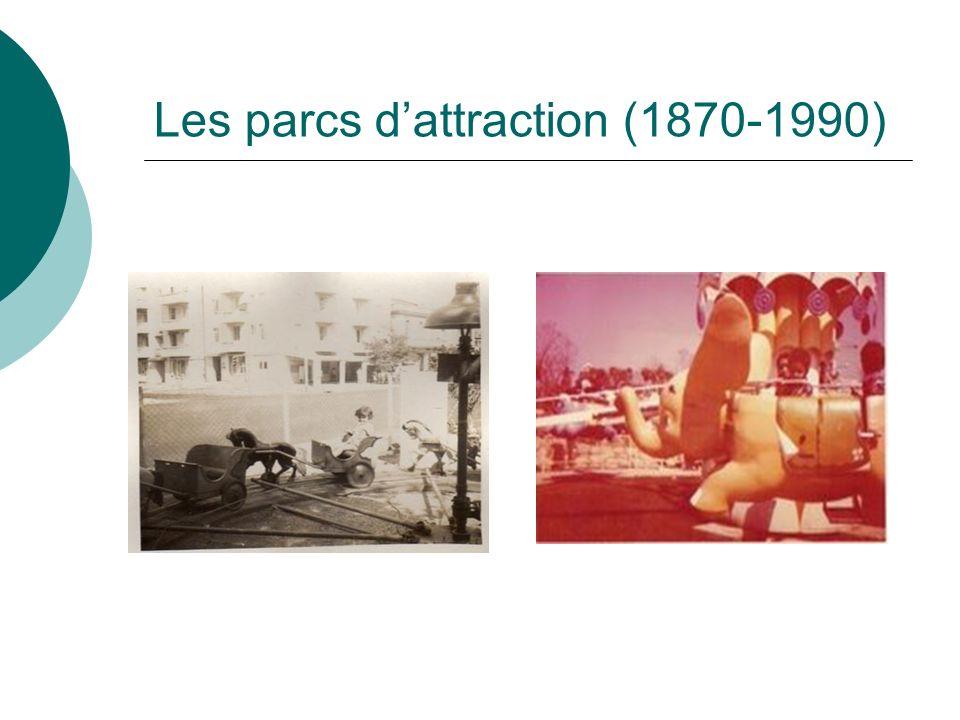 Les parcs dattraction (1870-1990)