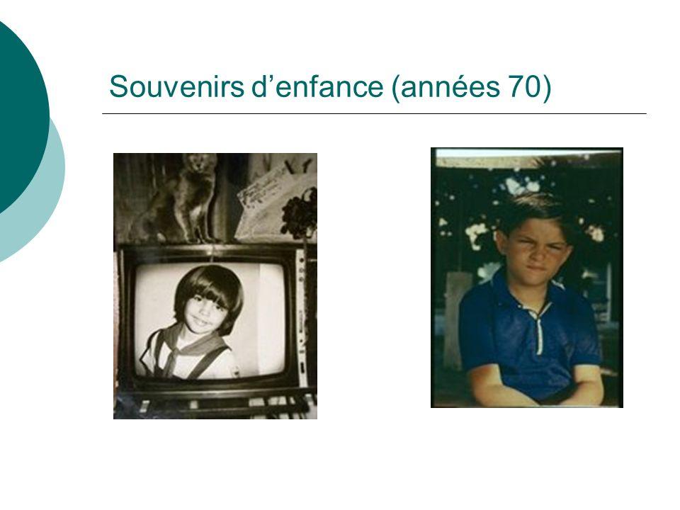 Souvenirs denfance (années 70)