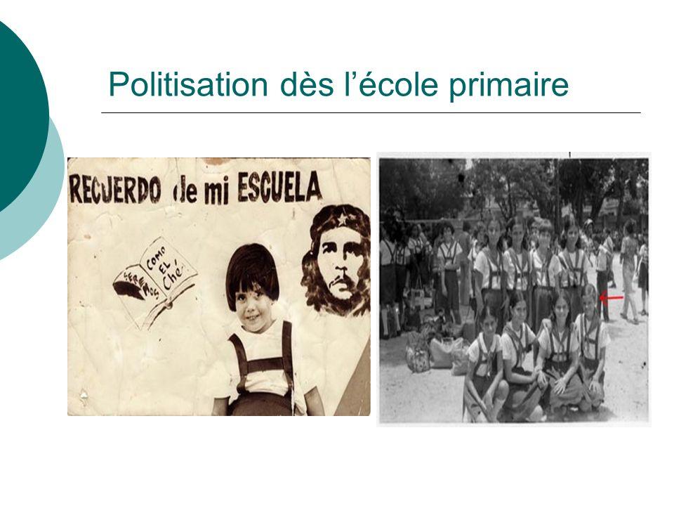 Politisation dès lécole primaire