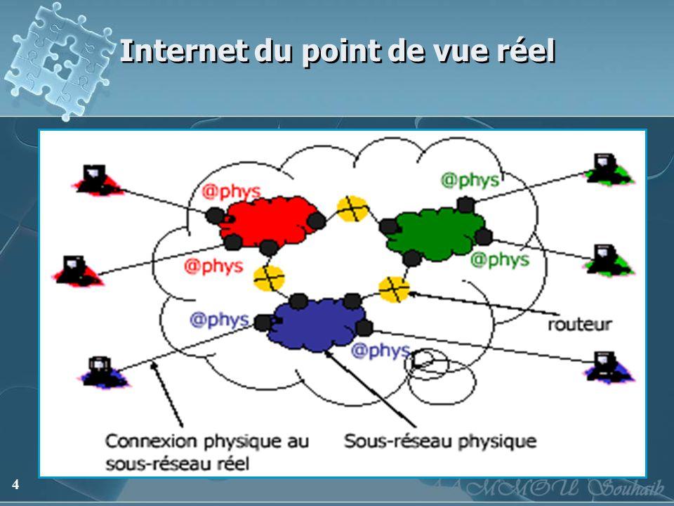 4 Internet du point de vue réel