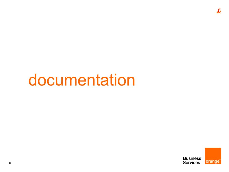36 documentation