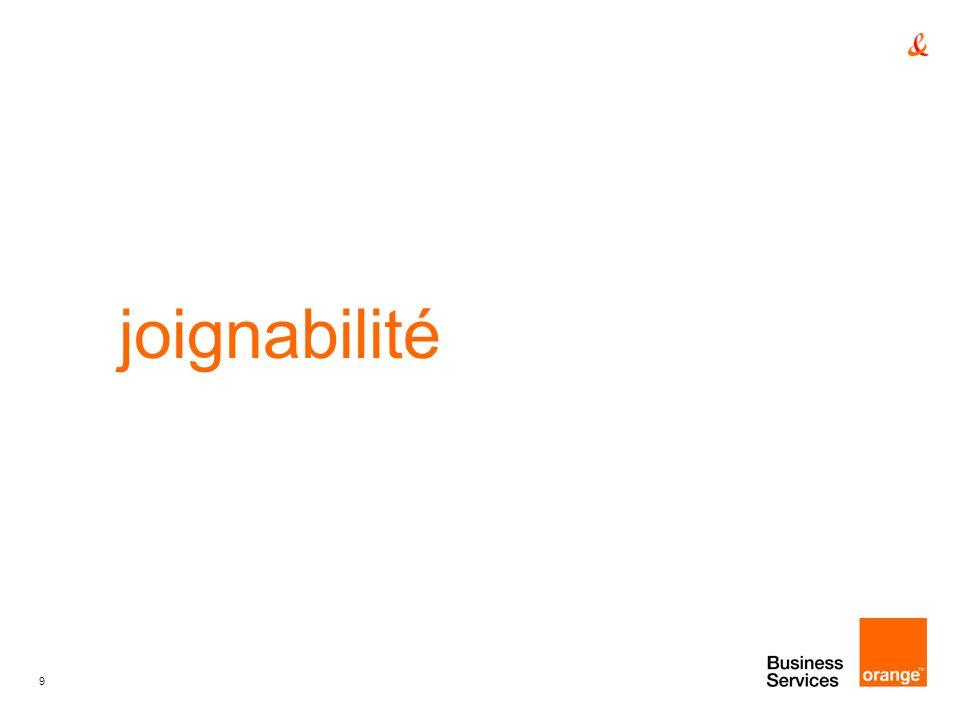 9 joignabilité