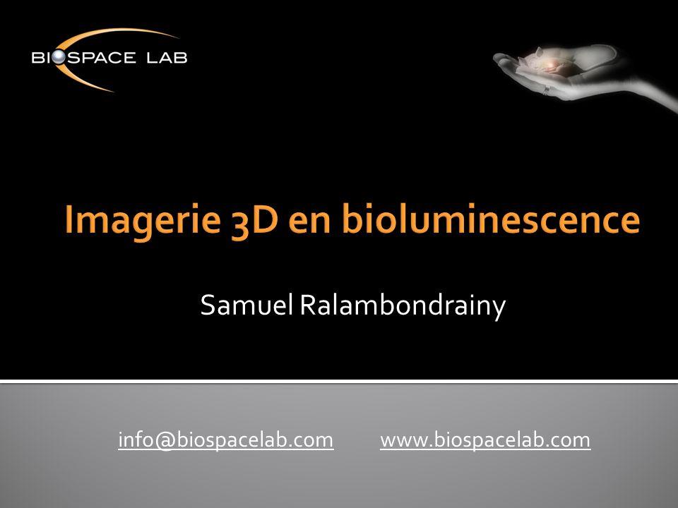 info@biospacelab.cominfo@biospacelab.com www.biospacelab.comwww.biospacelab.com Samuel Ralambondrainy