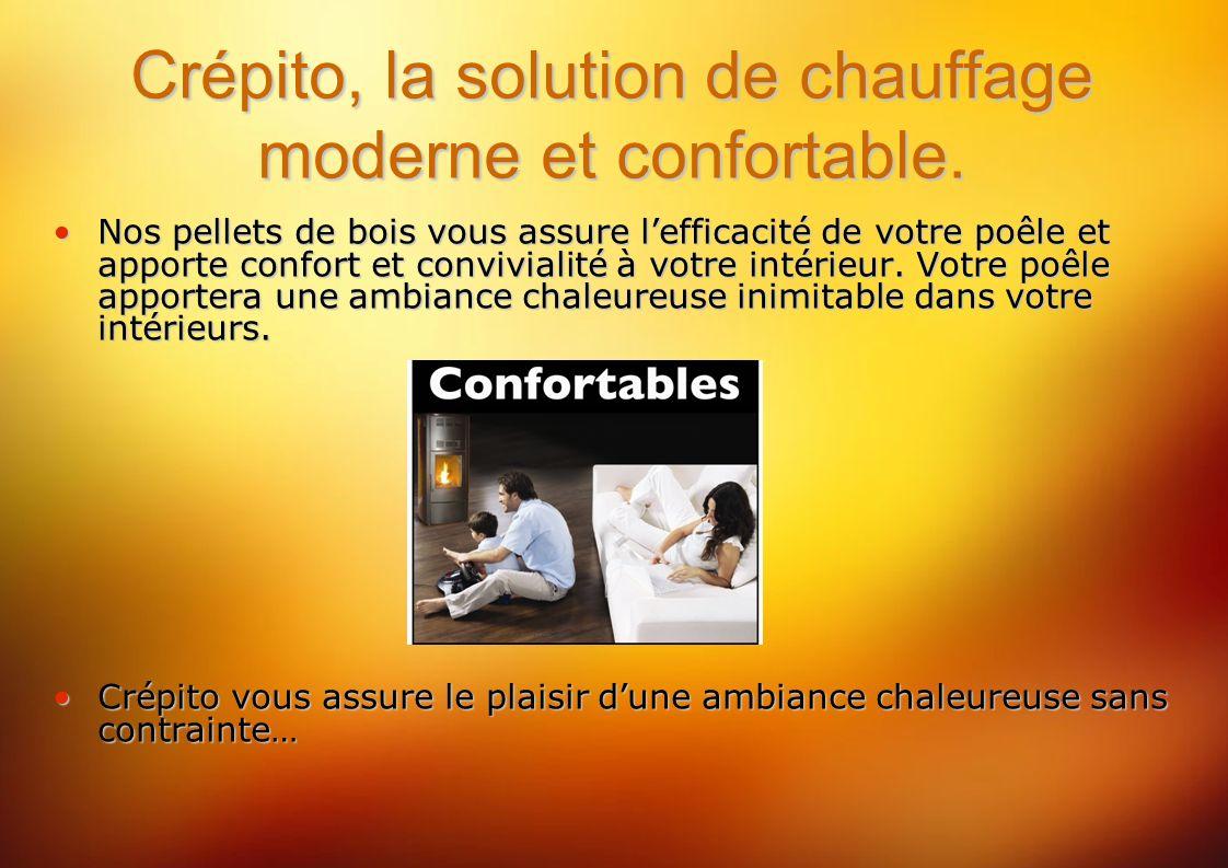 Crépito, la solution de chauffage moderne et confortable.