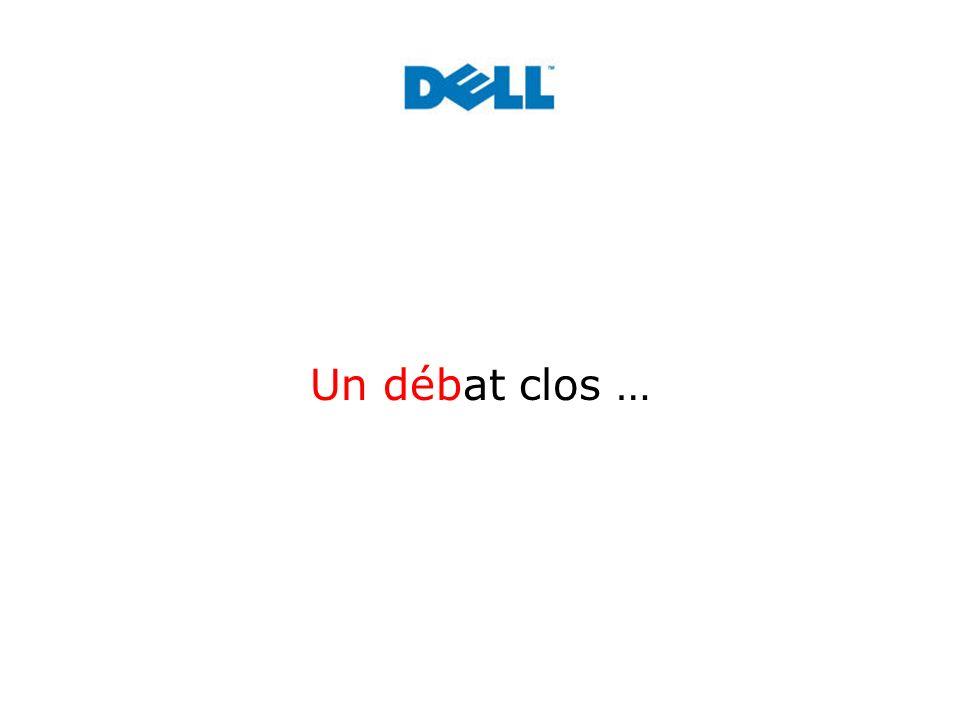 Un débat clos …
