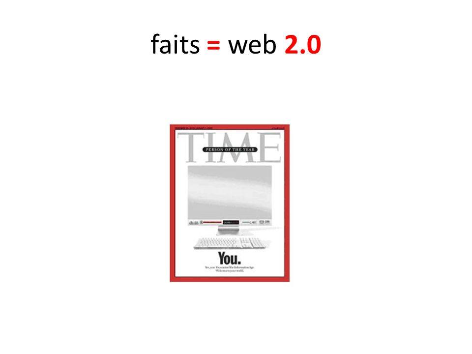 faits = web 2.0