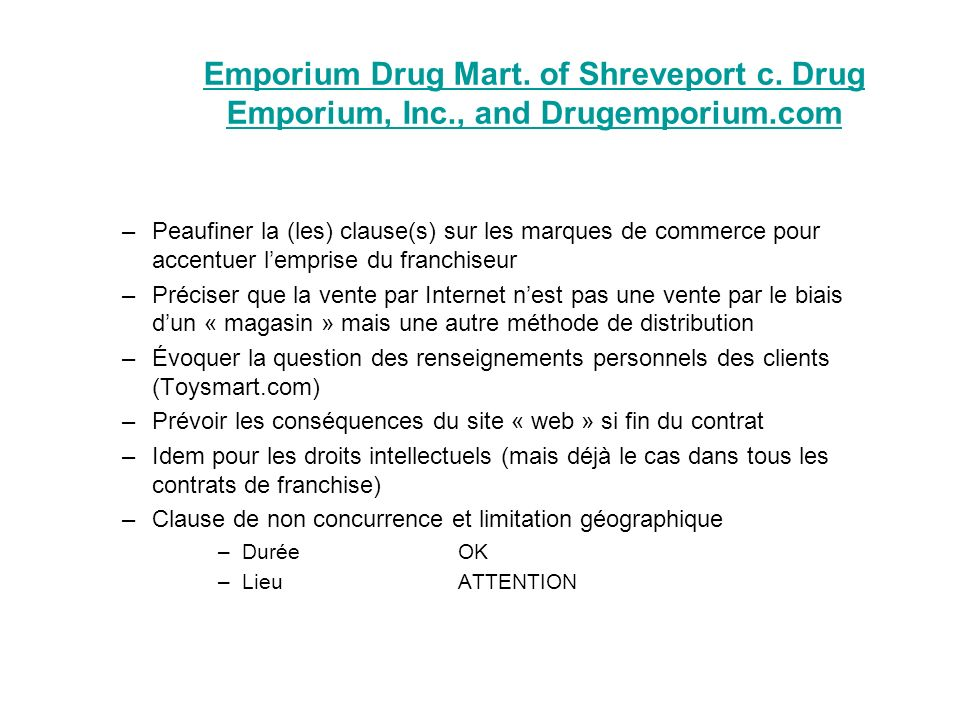 Emporium Drug Mart. of Shreveport c.