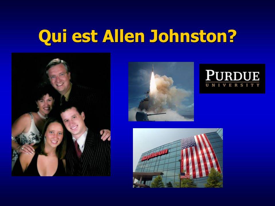 Qui est Allen Johnston?