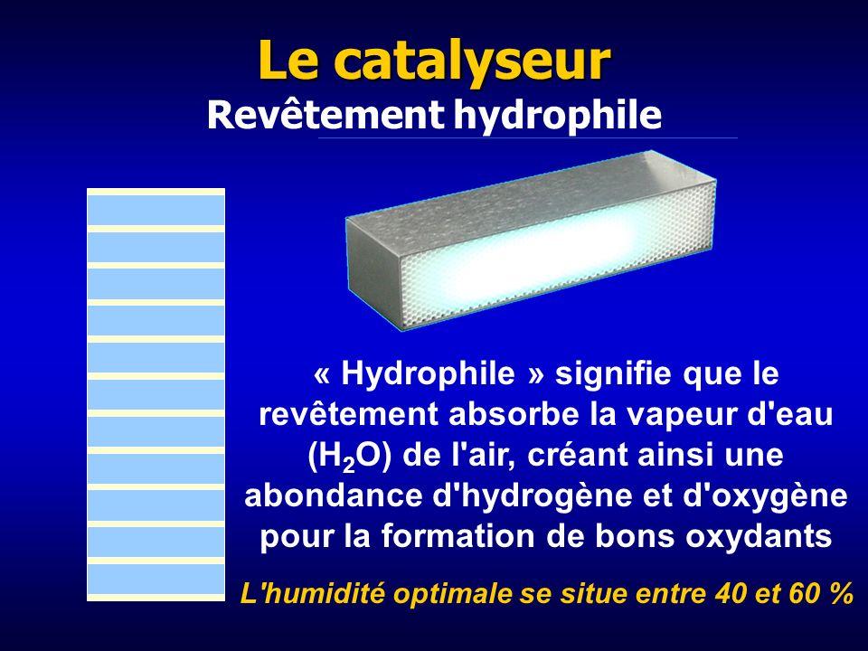 Rayons UV de 254 nm pour activer le catalyseur Effet photoélectrique : Conversion de la lumière en électricité