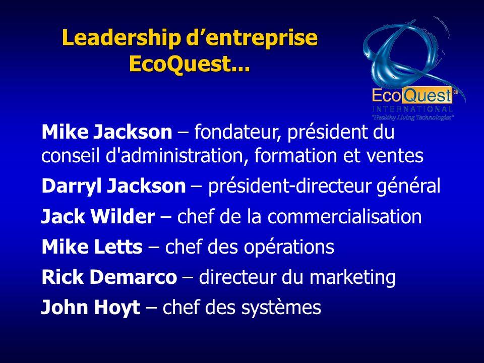 Leadership dentreprise EcoQuest...