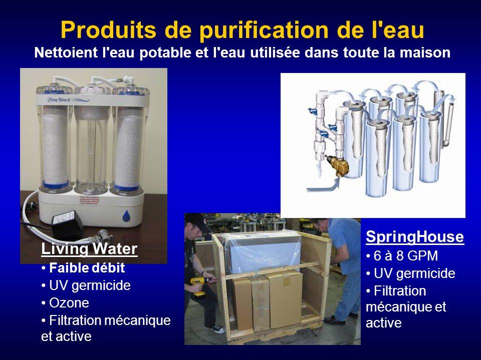 LaundryPure d'EcoQuest Conseils (avertissement de LaundryPure) La qualité de l'eau est importante. Un taux de chlore ou de fer élevé nécessite l'utili