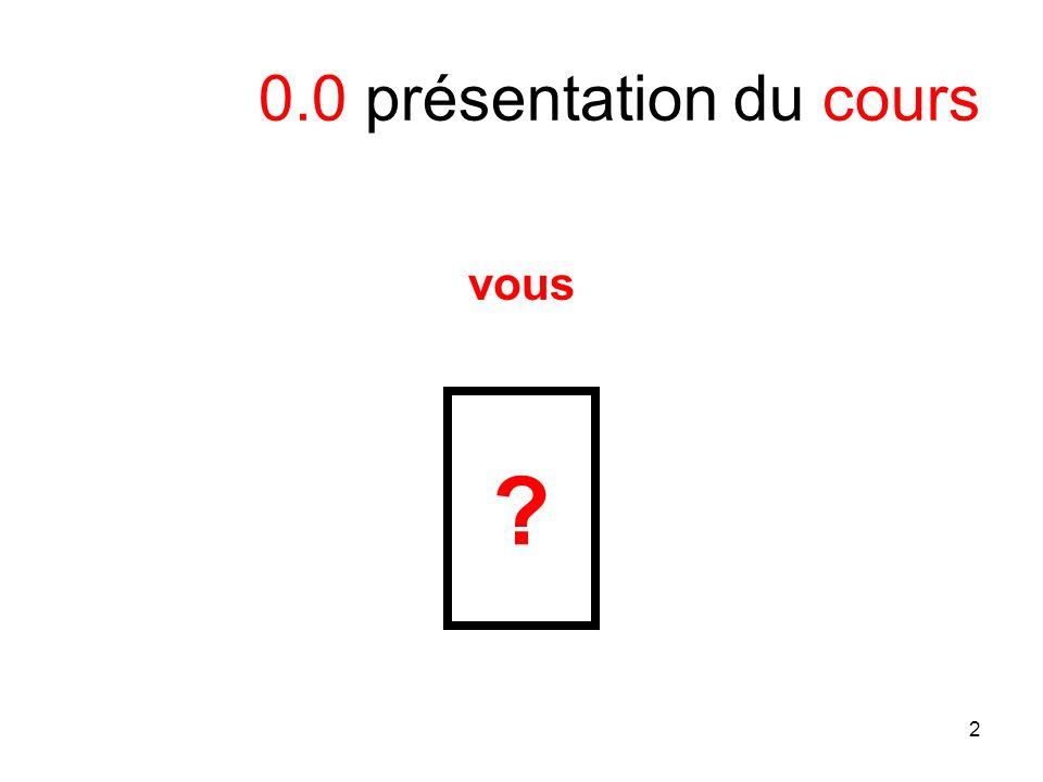 2 0.0 présentation du cours vous ?