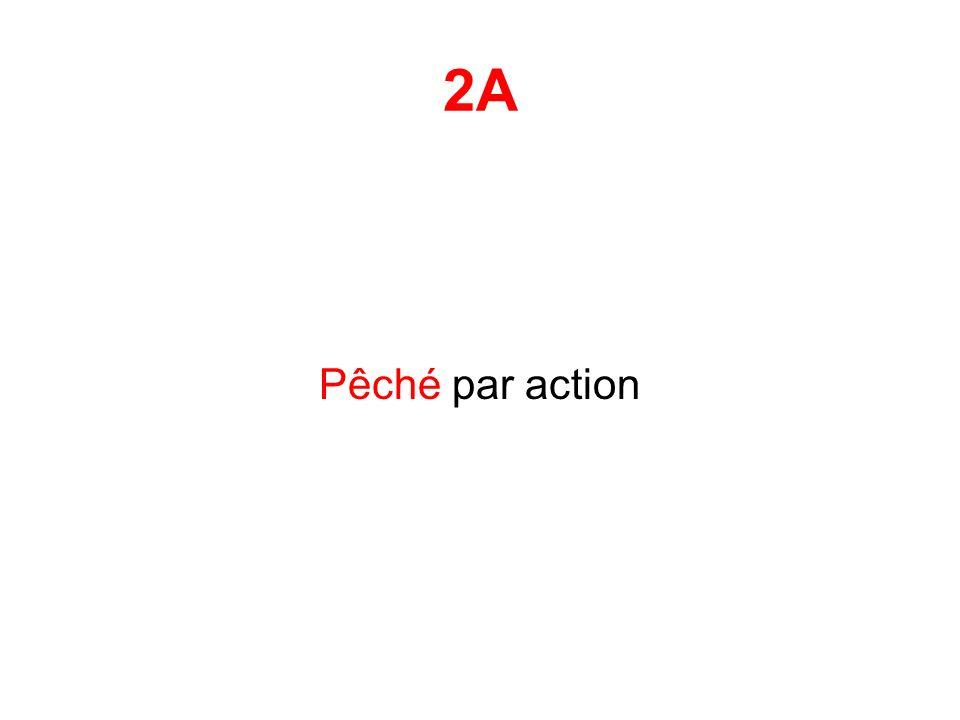 2A Pêché par action