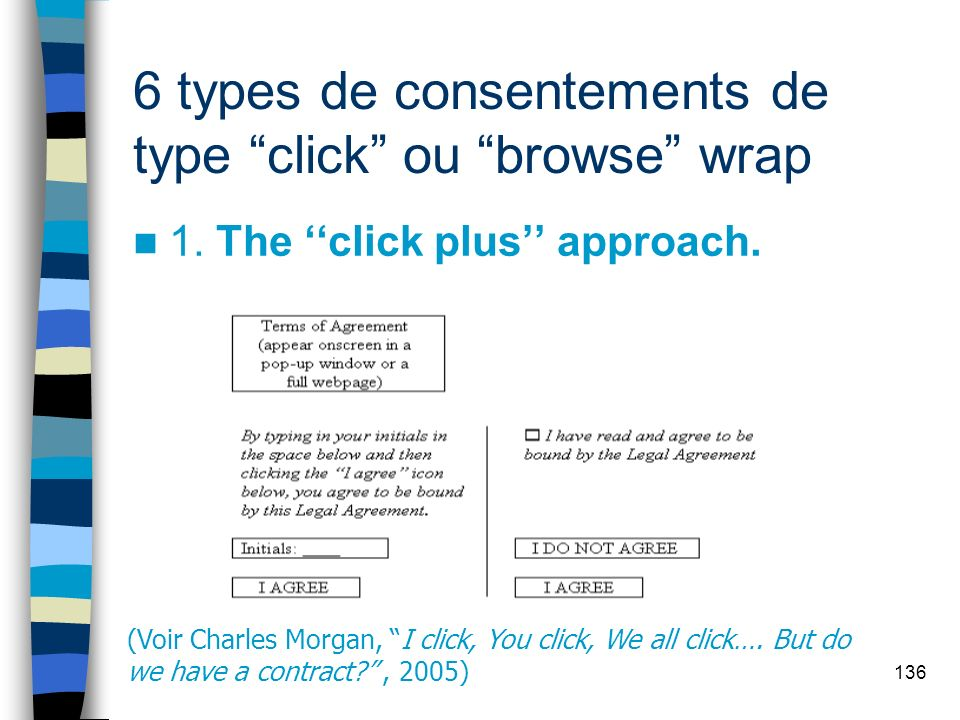 136 6 types de consentements de type click ou browse wrap 1.