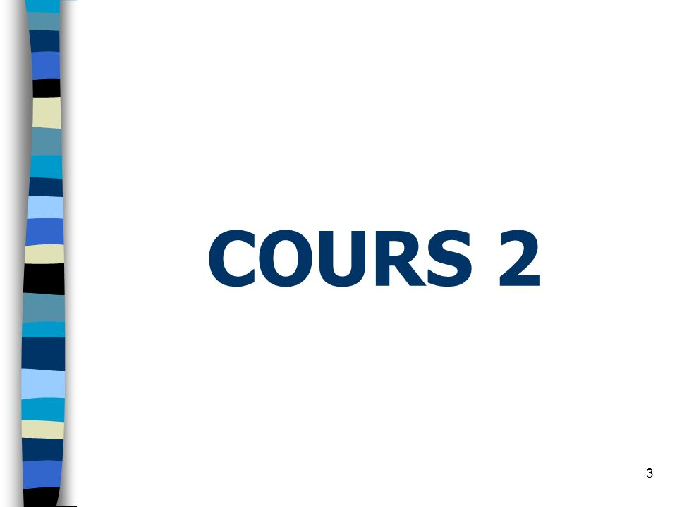 3 COURS 2
