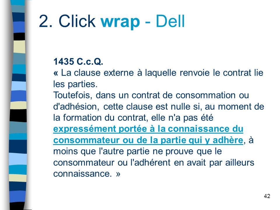 42 2.Click wrap - Dell 1435 C.c.Q.
