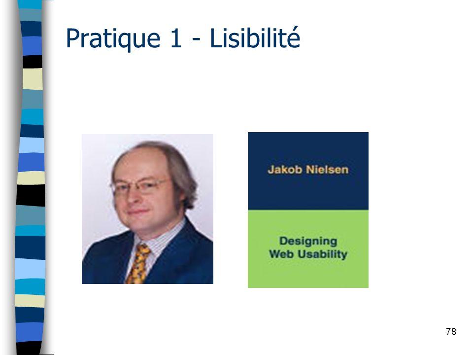 78 Pratique 1 - Lisibilité