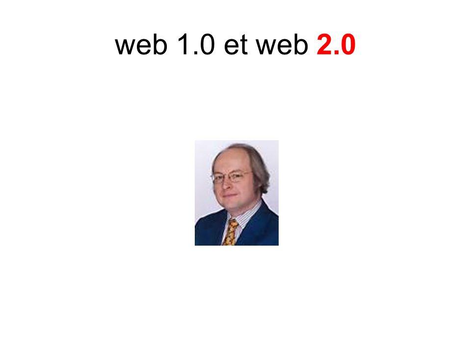 web 1.0 et web 2.0