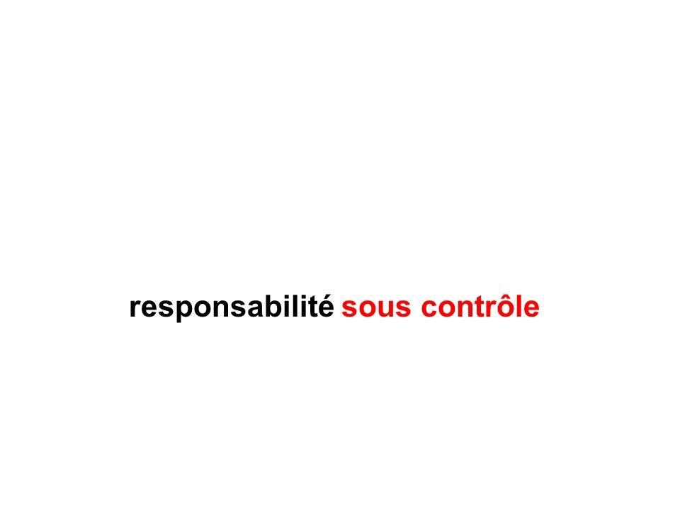 responsabilité sous contrôle