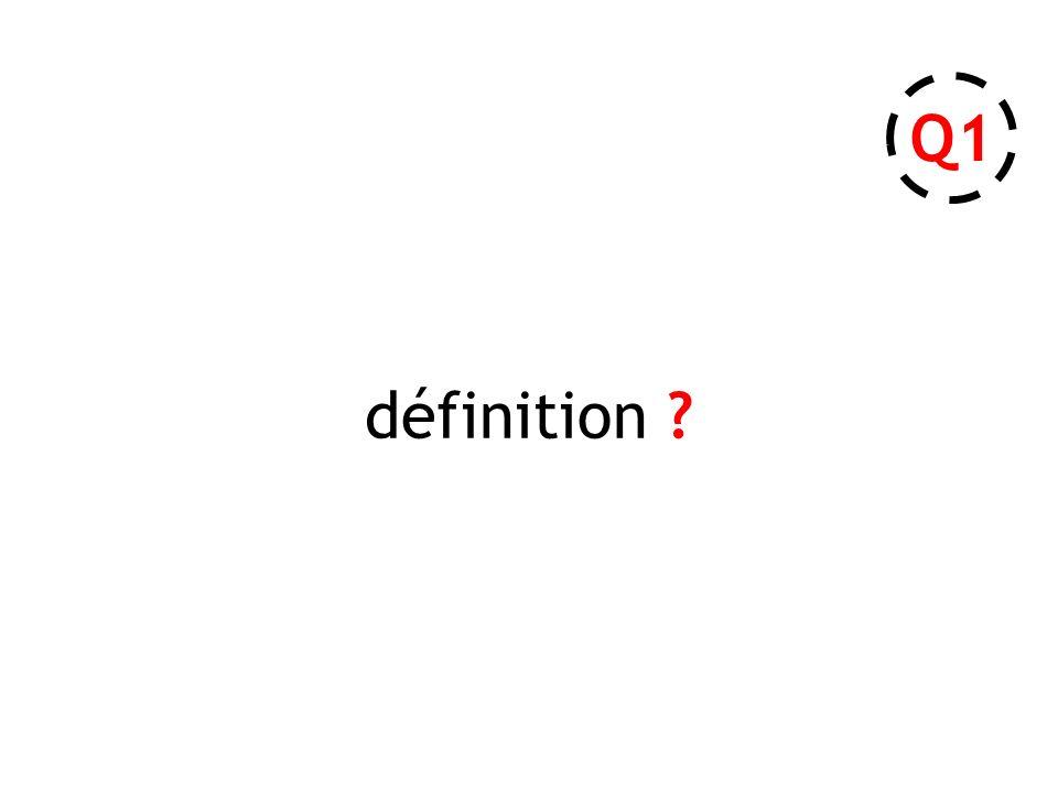 définition ? Q1