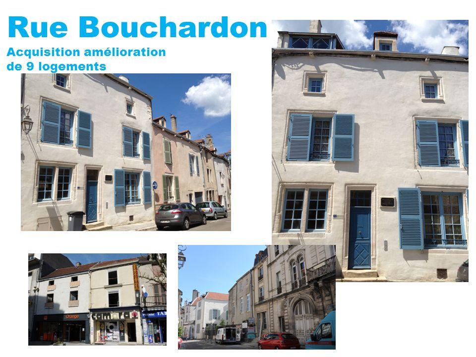 Rue Bouchardon Acquisition amélioration de 9 logements