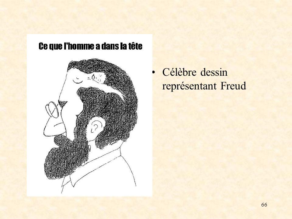 66 Célèbre dessin représentant Freud