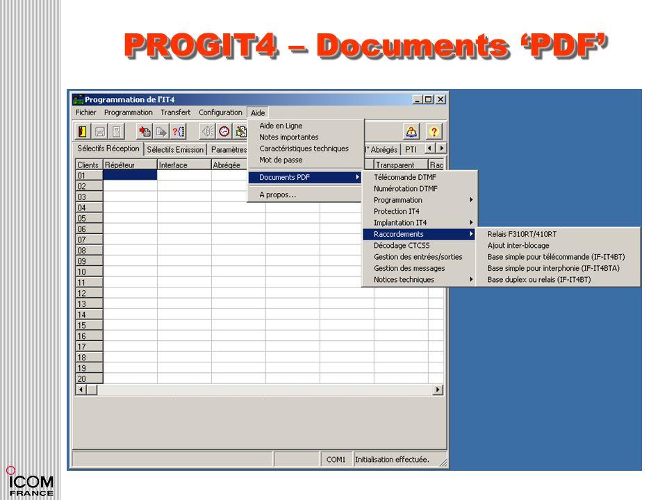 PROGIT4 – Documents PDF
