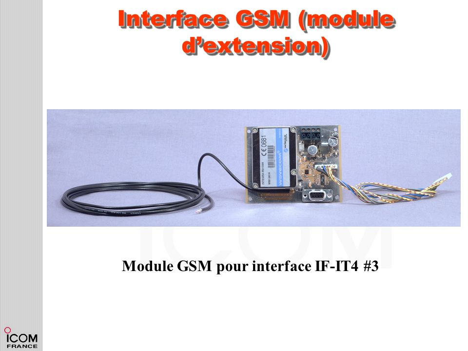 Interface GSM (module dextension) Module GSM pour interface IF-IT4 #3