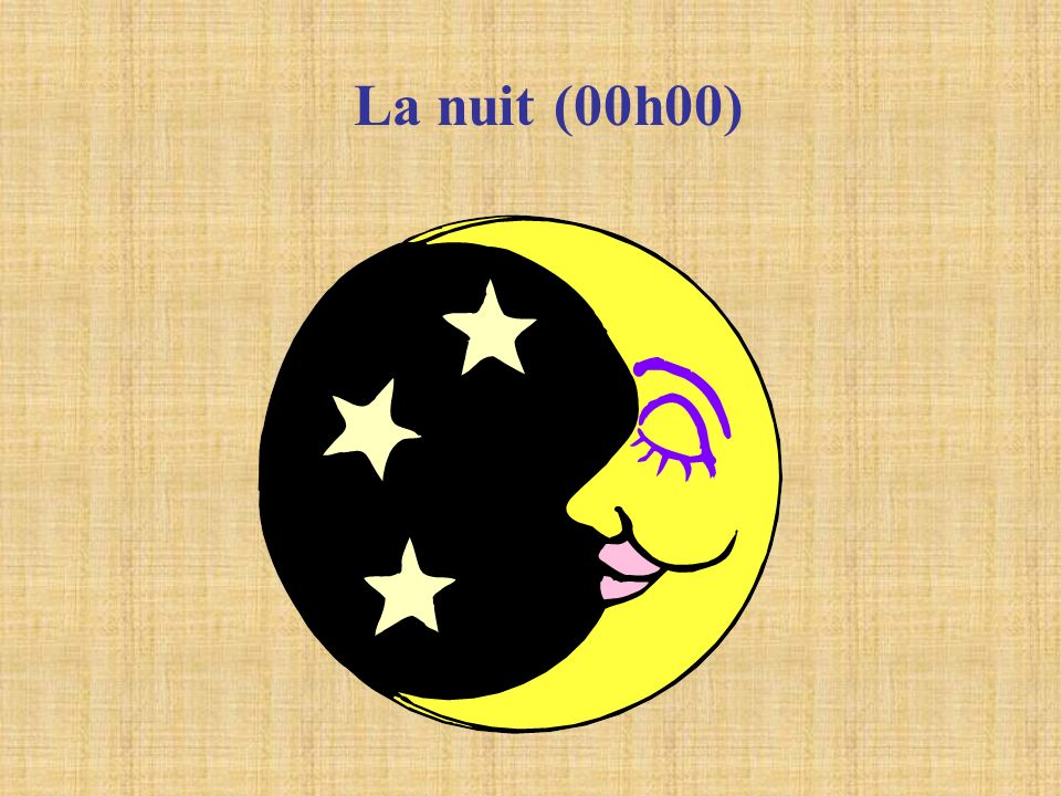 La nuit (00h00)