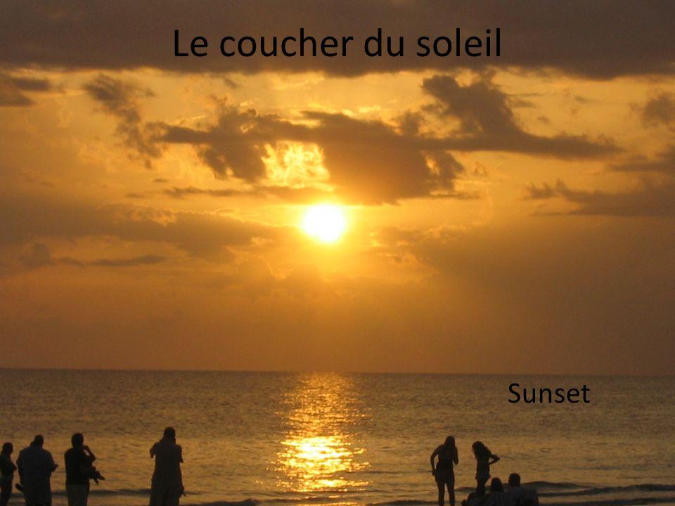 Le coucher du soleil Sunset