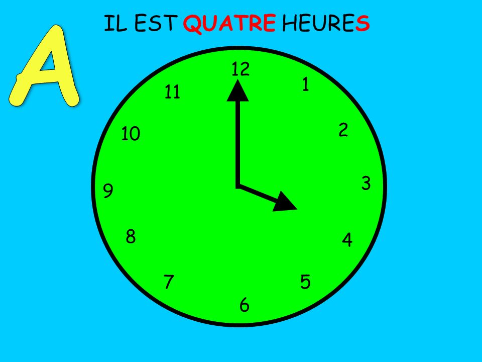 Can I: 1.Ask someone what the time is.2.Tell the time, in French, and use oclock?quarter past.