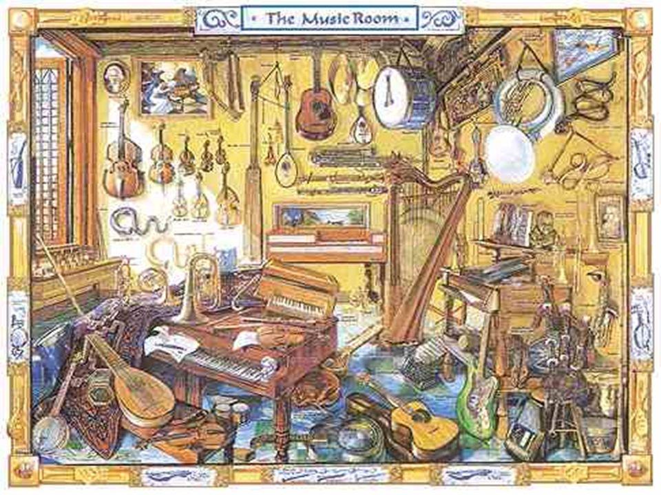FAMILLE À CORDES CORDES FROTTÉES (avec un archet): violon, alto, violoncelle, contrebasse CORDES PINCÉES: harpe, guitare, clavecin, mandoline, luth CORDES FRAPPÉES: piano, clavicorde