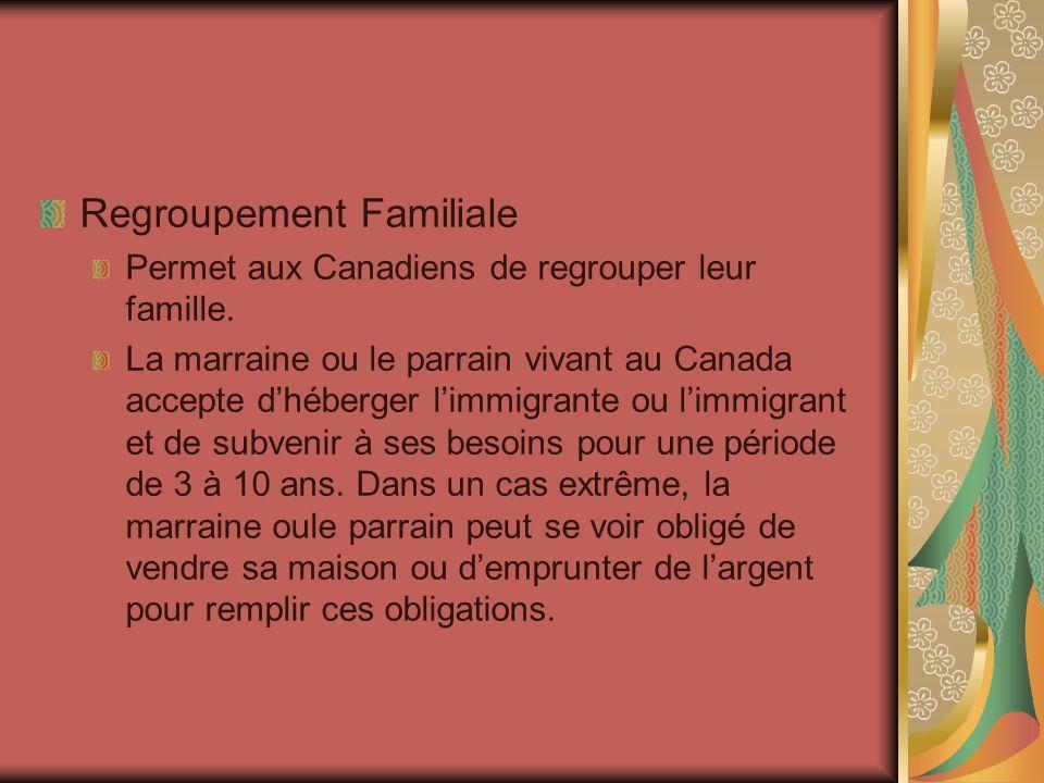 Les réfugiées et les réfugiés politiques Une réfugiée ou un réfugié est une personne qui vient au Canada, car elle crait les persécutions dans son pays dorigine.