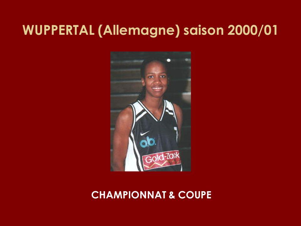 WUPPERTAL (Allemagne) saison 2000/01 CHAMPIONNAT & COUPE