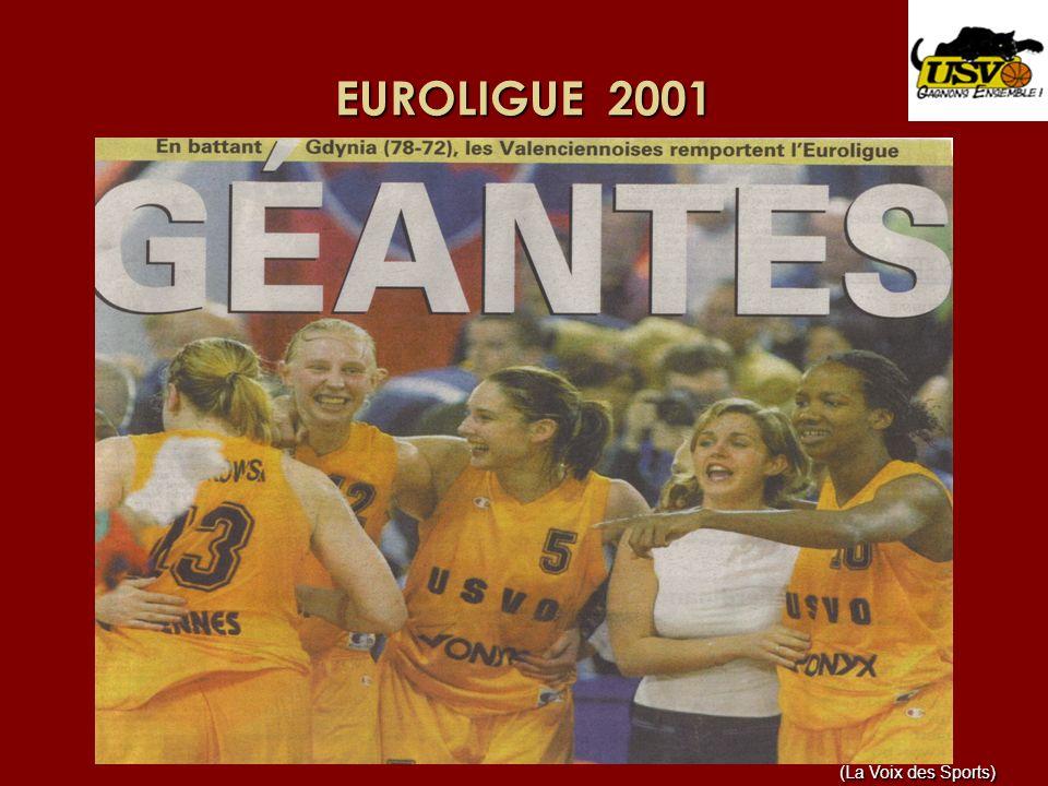 EURO 2001 – Médaille dOR