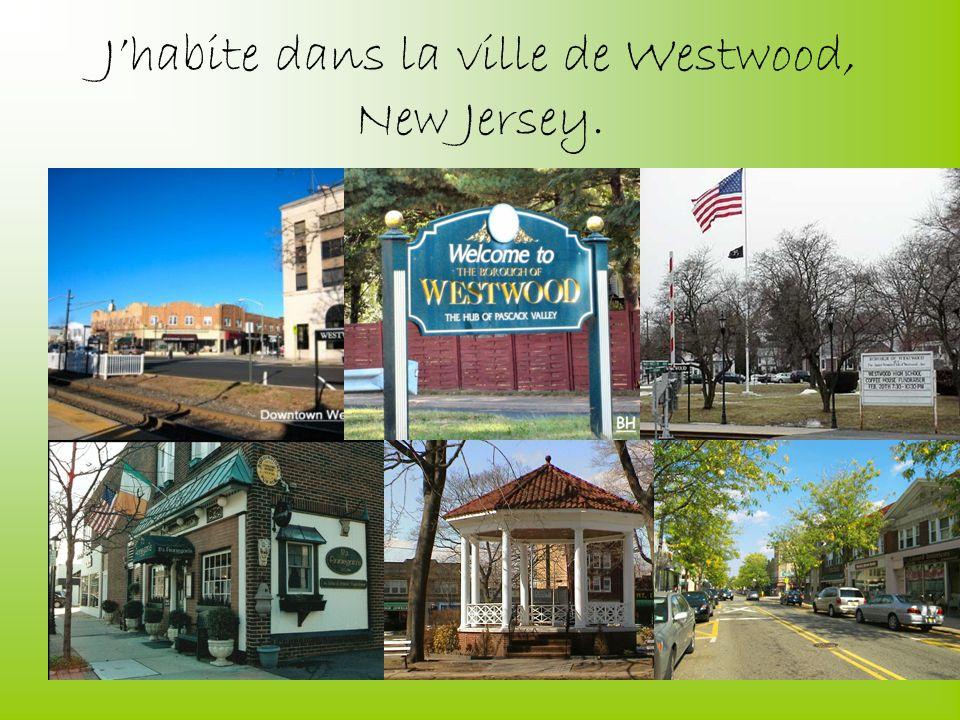 Jhabite dans la ville de Westwood, New Jersey.