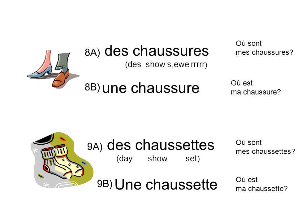 1)Les cartes de vocabulaire – Les vêtements.