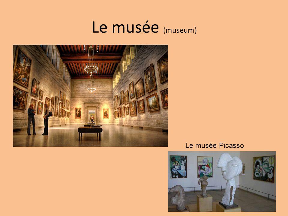 Le musée (museum) Le musée Picasso
