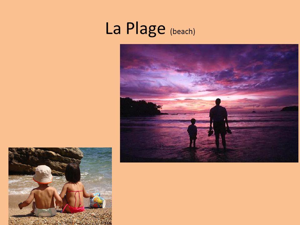 La Plage (beach)