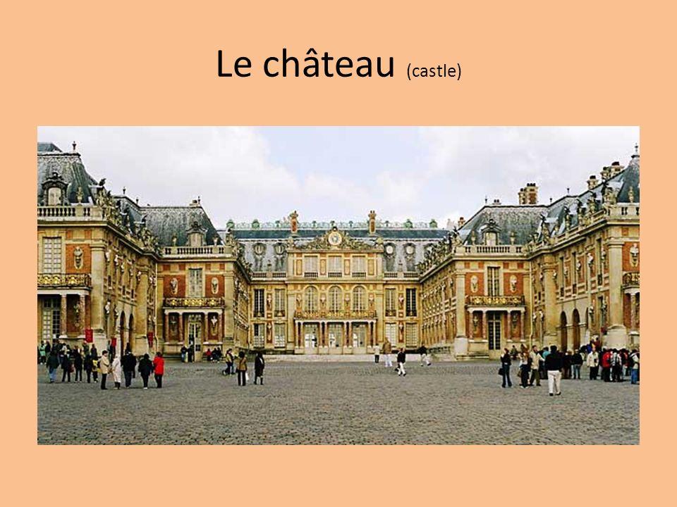 Le château (castle)